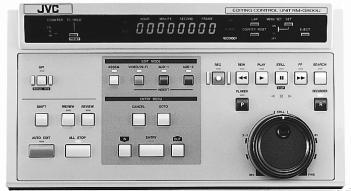 JVC RM-G800E Cuts Editing Controller