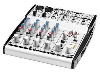 Behringer Eurorack UB802 8-Input 2-Bus Audio Mixer