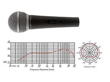 Globalmediapro MD-58VIH Dynamic Microphone