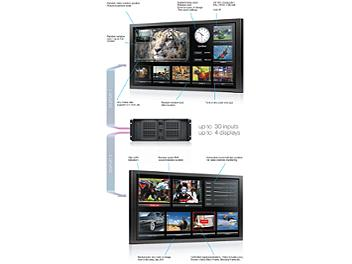 StreamLabs MultiScreen 16 TV Signal Monitoring System