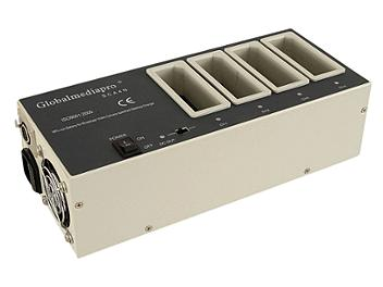 Globalmediapro SCA4N 4-channel NP1B Mount Charger/ AC Adaptor