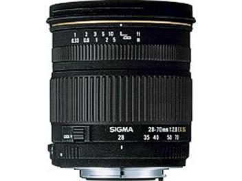 Sigma 28-70mm F2.8 EX DG Lens - Sigma Mount