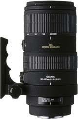 Sigma APO 80-400mm F4.5-5.6 EX OS Lens - Sigma Mount