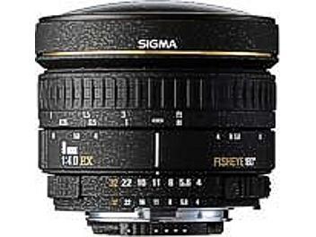 Sigma 8mm F4 EX Circular Fisheye Lens - Nikon Mount