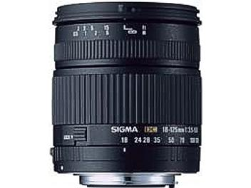 Sigma 18-125mm F3.5-5.6 DC Lens - Sigma Mount
