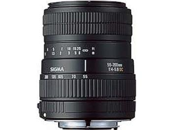 Sigma 55-200mm F4-5.6 DC Lens - Sony Mount
