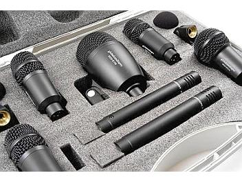 Globalmediapro MDS-7KT 7 Piece Drum Kit Microphone Set