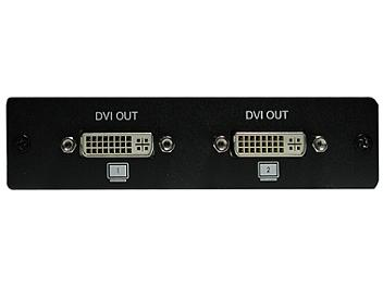 Globalmediapro Y-101D2 1-in 2-out DVI Distributor
