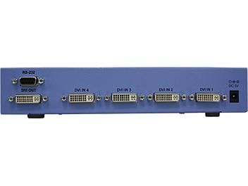 Globalmediapro Y-102D4 4-in 1-out DVI Switcher