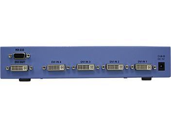 Globalmediapro Y-102D4 4x1 DVI Switcher
