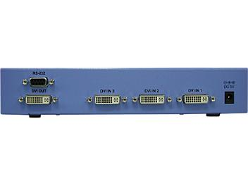 Globalmediapro Y-102D6 6-in 1-out DVI Switcher