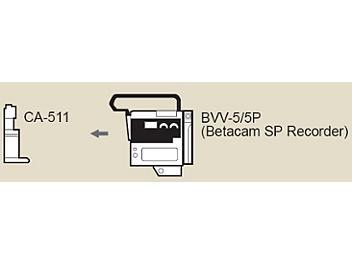 Sony BVV-5PS Betacam SP Recorder PAL and CA-511 Adapter