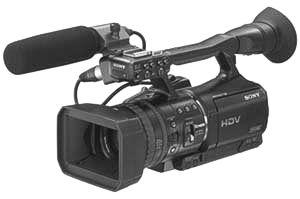 Sony HVR-V1P HDV Camcorder PAL