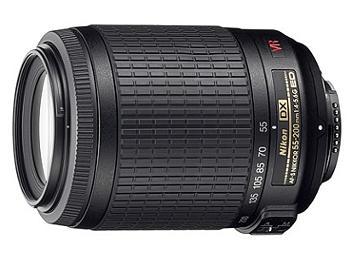 Nikon 55-200mm F4-5.6G IF-ED AF-S DX VR Nikkor Lens