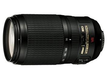 Nikon 70-300mm F4.5-5.6G IF-ED AF-S VR Nikkor Lens