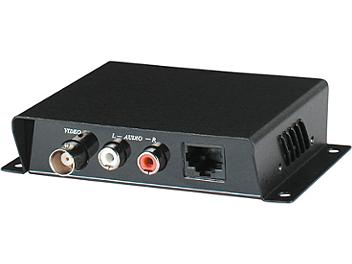 Globalmediapro C5E-11A Audio Video CAT5 Extender (Transmitter & Receiver)