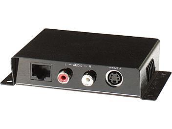 Globalmediapro C5E-21A Audio S-Video CAT5 Extender (Transmitter & Receiver)