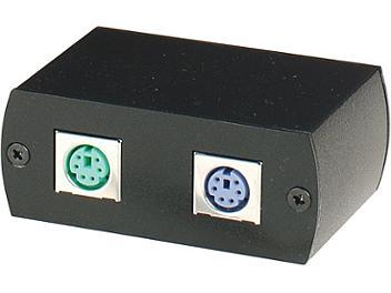 Globalmediapro C5E-61U Keyboard Mouse CAT5 Extender (Transmitter and Receiver)