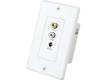 Globalmediapro C5E-11WAP Audio Video Power CAT5 Extender (Transmitter and Receiver)