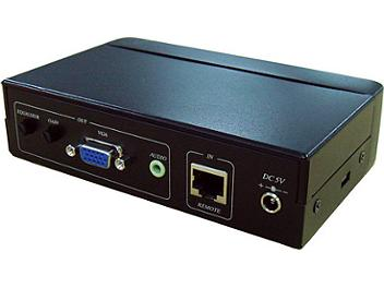 Globalmediapro C5E-55AR VGA Audio CAT5 Remote Receiver