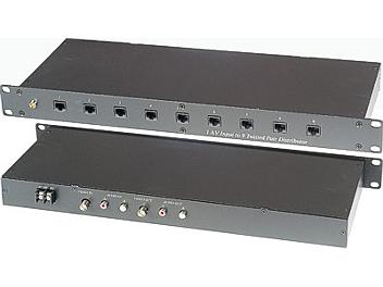 Globalmediapro C5E-19A Audio Video CAT5 Amplifier