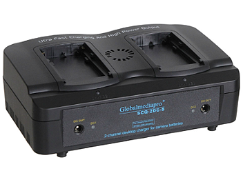 Globalmediapro SCQ2-DC-S 2-channel Charger