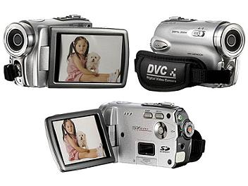 DigiLife DDV-5100HD Digital Video Camcorder - Silver
