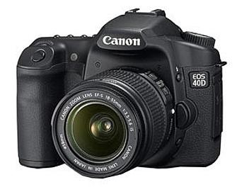 Canon EOS-40D DSLR Camera Kit with Canon EF-S 18-55mm IS Lens