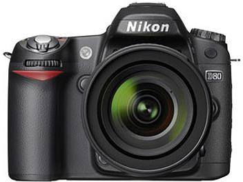 Nikon D80 DSLR Camera Kit with Nikon 18-135mm Lens and Tamron 18-200mm Lens