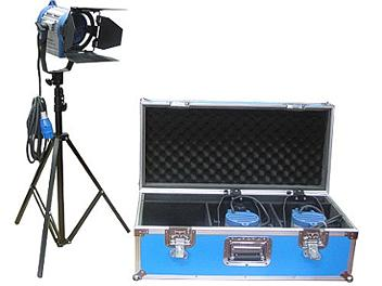 Dynacore DTW-500W-KH Studio Fresnel Spot Light Kit (Hard Case)