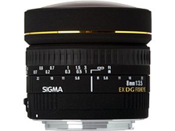 Sigma 8mm F3.5 EX Circular Fisheye Lens - Nikon Mount