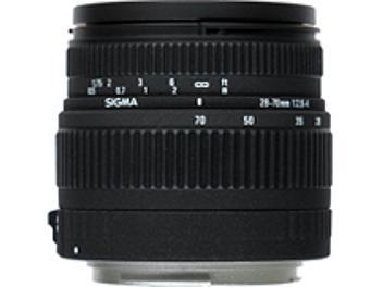 Sigma 28-70mm F2.8-4 DG Lens - Canon Mount