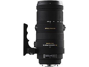 Sigma APO 120-400mm F4.5-5.6 DG OS HSM Lens - Pentax Mount