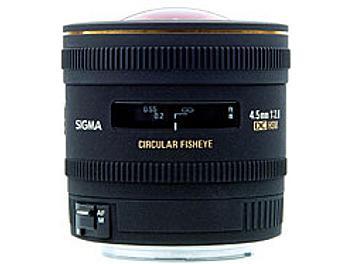 Sigma 4.5mm F2.8 EX DC Circular Fisheye HSM Lens - Canon Mount