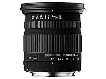 Sigma 17-70mm F2.8-4.5 DC Macro Lens - Canon Mount