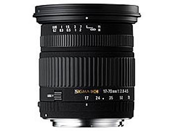 Sigma 17-70mm F2.8-4.5 DC Macro Lens - Pentax Mount