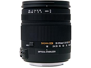 Sigma 18-125mm F3.8-5.6 DC OS HSM Lens - Canon Mount
