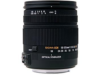 Sigma 18-125mm F3.8-5.6 DC OS HSM Lens - Nikon Mount