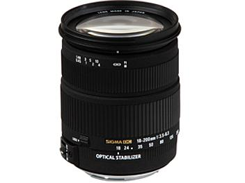 Sigma 18-200mm F3.5-6.3 DC OS Lens - Canon Mount