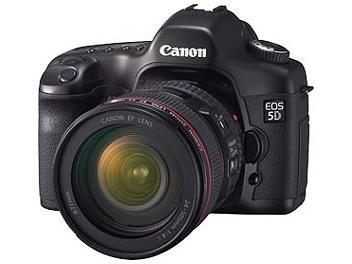 Canon EOS-5D Digital SLR Camera Kit with Canon EF 24-105mm F4L IS USM Lens