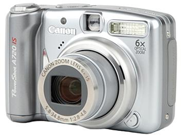 Canon PowerShot A720 IS Digital Camera - Silver