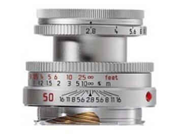 Leica Elmar-M 2.8/50 Lens - Silver