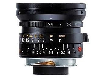 Leica Elmarit-M 2.8/21 Lens - Black