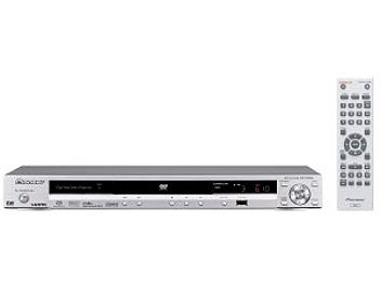 Pioneer DV-610AV-S DVD Player - Silver