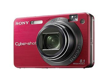 Sony Cyber-shot DSC-W150 Digital Camera - Red