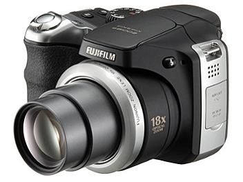 Fujifilm FinePix S8100fd Digital Camera - Black