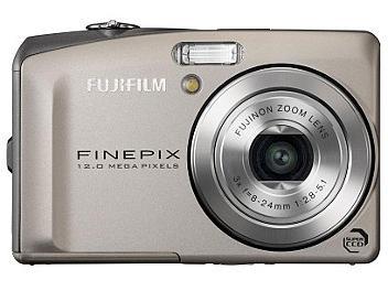 Fujifilm FinePix F60fd Digital Camera - Silver
