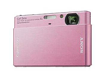 Sony Cyber-shot DSC-T77 Digital Camera - Pink