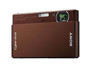 Sony Cyber-shot DSC-T77 Digital Camera - Brown