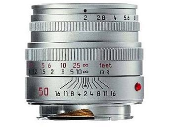 Leica Summicron-M 2.0/50 Lens - Silver